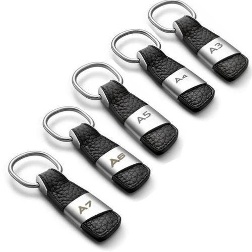 Keychain Keyring For Audi A3 A4 A6 A7 Q3 Q5 Q7 TT Metal Key Holder Ring Unisex