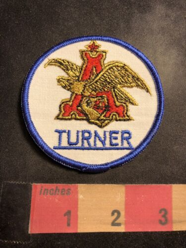 Anheuser Busch Beer Turner Advertising Patch 00MJ