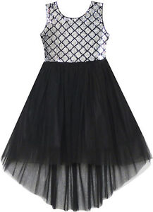 Sunny-Fashion-Robe-Fille-Sequin-Mesh-Partie-Mariage-Princesse-Tulle-7-14-ans