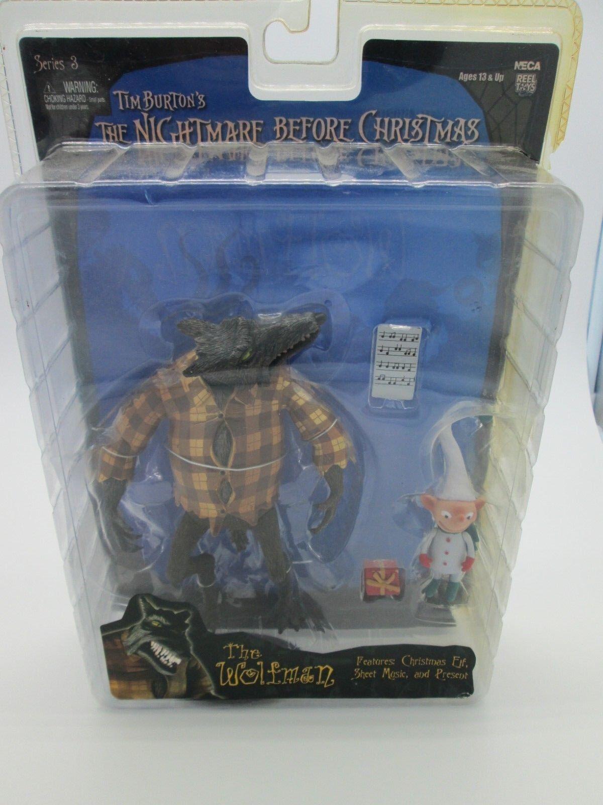 NECA Series 3 - The Nightmare Before Christmas Wolfman Figure Tim Burton toy