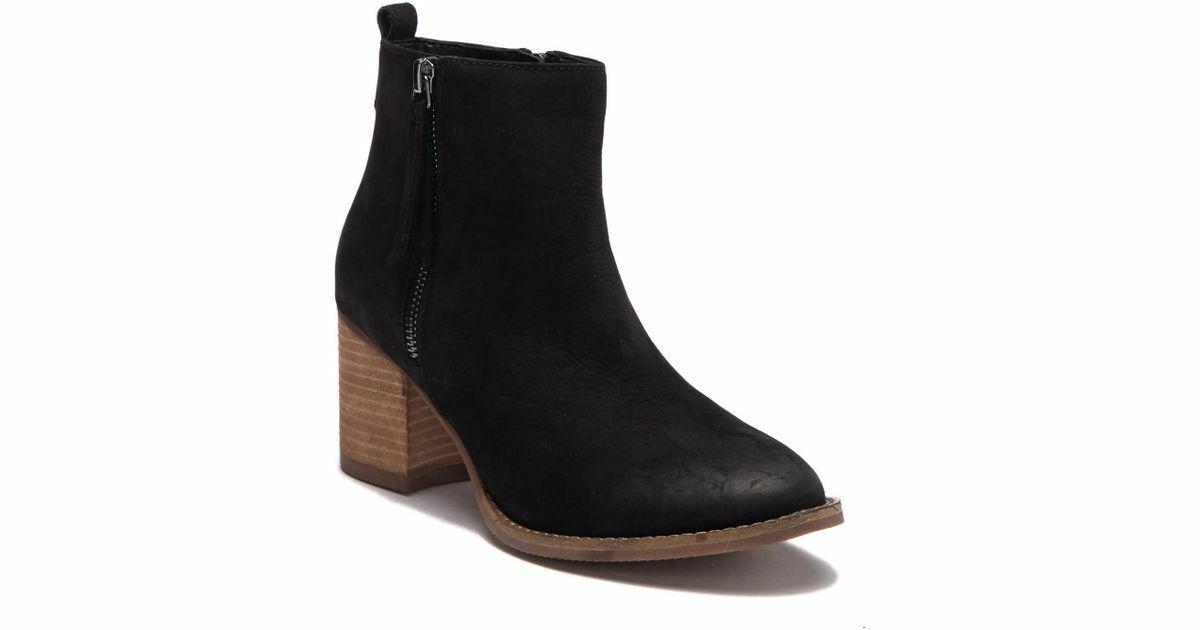 Blondo Wouomo nero Nova Waterproof Leather Zipper avvioie Dimensione 5.5 M  150