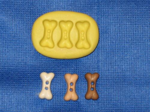 Dog Bones Silicone Push Mold #848 For Craft Cake Chocolate Resin Clay Candy Soap