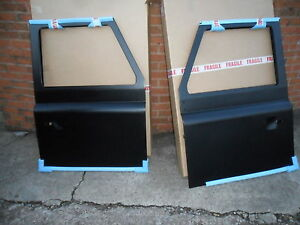 Image is loading LAND-ROVER-DEFENDER-BRAND-NEW-OE-FRONT-DOORS- & LAND ROVER DEFENDER BRAND NEW OE FRONT DOORS ONE PAIR | eBay