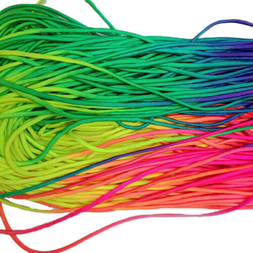 101Ft Rainbow Color Paracord Survival Rope Strands Hiking Camping Bushcraft Cord