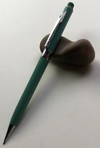Vintage-SCRIPTO-Mechanical-Pencil-WORDMASTER-Turquiose-Chrome-EDC-Working-USA
