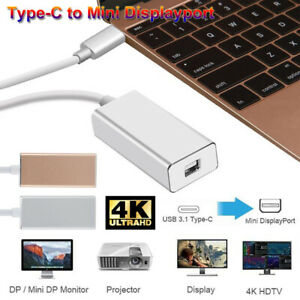 USB-C-Type-C-to-Mini-DisplayPort-Mini-DP-Adapter-Converter-Thunderbolt-3