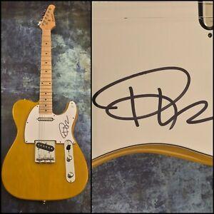 GFA Heart Throb Jessie's Girl * RICK SPRINGFIELD * Signed Electric Guitar COA