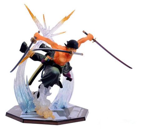 Anime One Piece Roronoa Zoro PVC Action Figure Collection Figurine Toy Gift 21CM