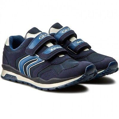 GEOX PAVEL J7215A scarpe bambino uomo mocassini sneakers pelle camoscio strappo | eBay