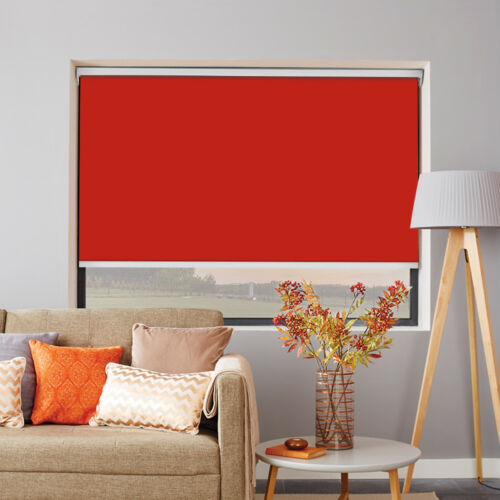 MOTORISED Made to measure ROLLER Blind up to 240cm width