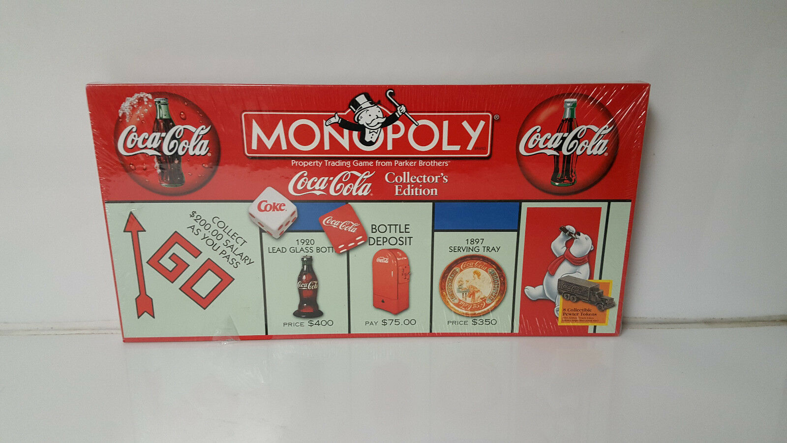 Monopoly Coca Cola Collectors Edition  New Sealed