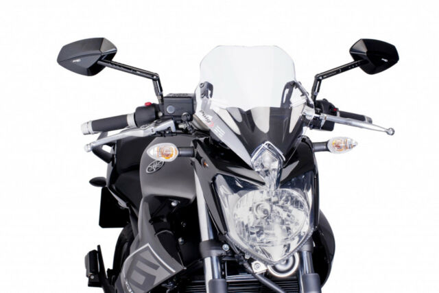 Puig Windscreen Windshield Yamaha XJ6N XJ6 Naked - Motorcycle Accessories & Parts for sale in