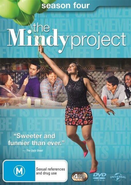 The Mindy Project Season 4 - DVD NEW Region 4 Mindy Kaling Chris Messin