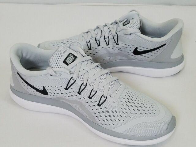 c5c698d22740 Nike Flex 2017 RN Running Training Shoes Pure Platinum 898457 002 Mens  Sizes NEW