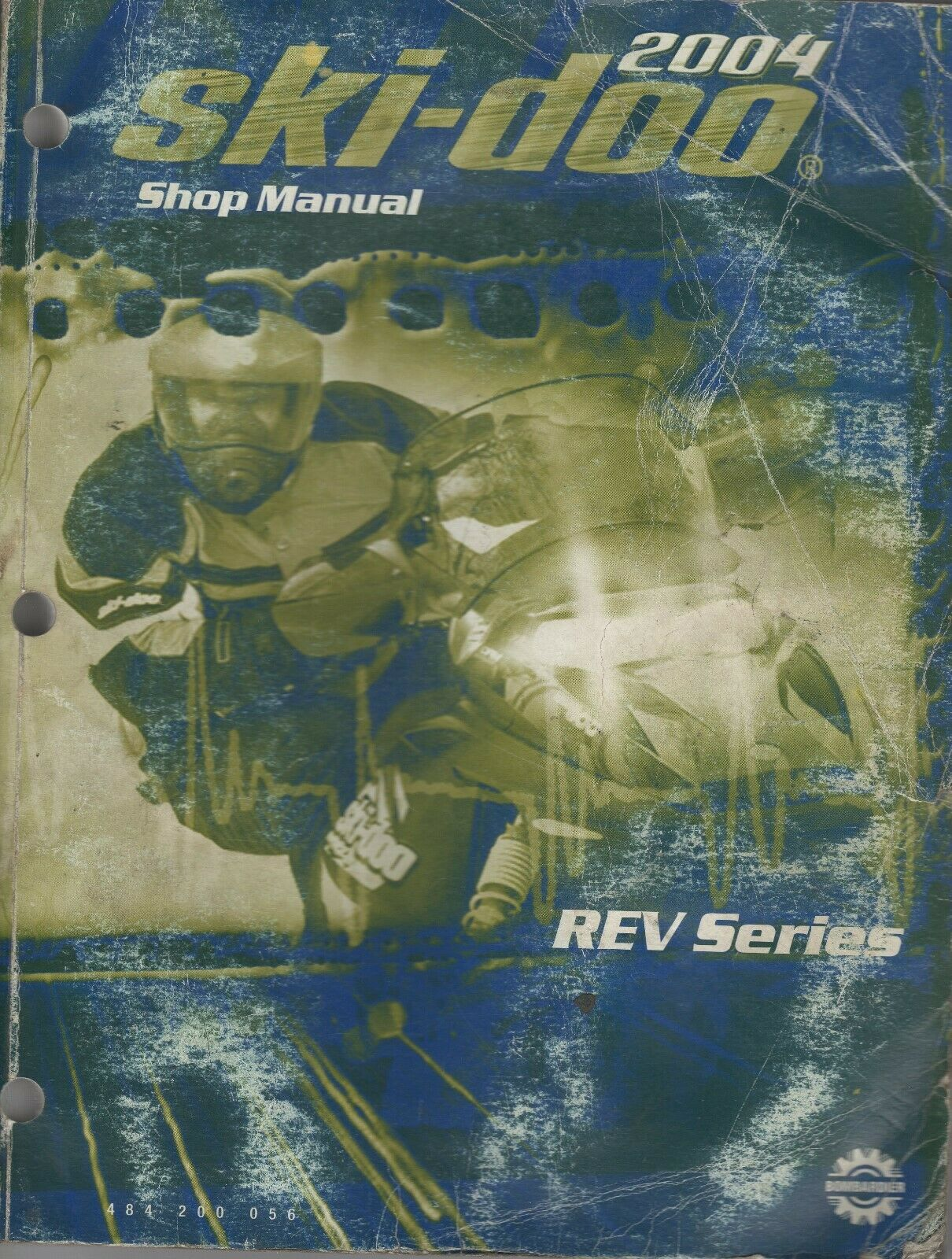 2004 SKI-DOO SNOWMOBILE REV SERIES SHOP  MANUAL 484 200 056 (615)  for sale