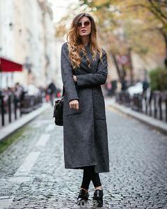Wool Handmade 251 Size L Grey M 7522 Zara Ref Coat xnOpw4R