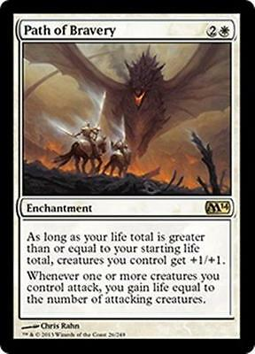Sorcery Mythic DEVOUT INVOCATION NM mtg M14 White