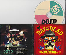 DAY OF THE DEAD - Heartbreak Island - 5 Song EP - CD - SEE PICS FOR SONG LIST