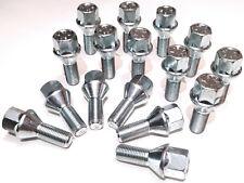 16 x wheel bolts lugs nuts. M12x1.25 - M12 x 1.25, 17mm Hex, taper seat
