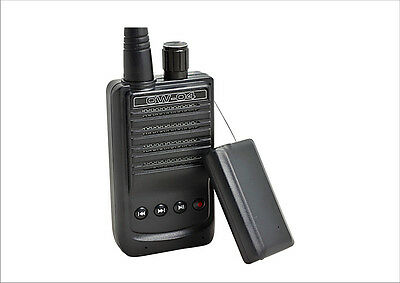 2GB Long Range 1500M Wireless Transmission Audio Gadget Audio Recorder CW-04 US