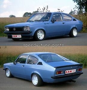 opel kadett c coupe kaw tieferlegungsfedern federn 85 70. Black Bedroom Furniture Sets. Home Design Ideas