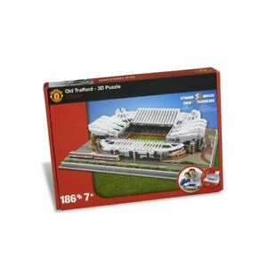 Man-Utd-Antiguo-Trafford-Estadio-3D-Puzzle