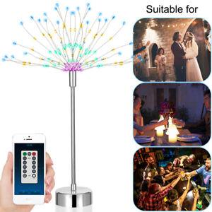 2X-Led-Starburst-Light-Firework-Fairy-Light-Night-Lamp-Battery-USB-Rechargeable