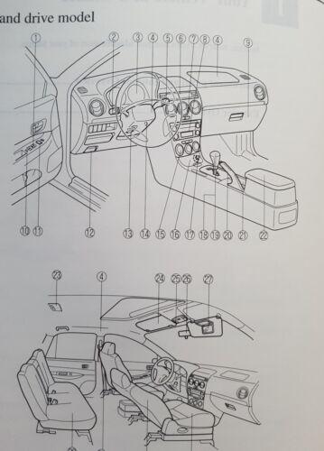 GENUINE MAZDA 6 HANDBOOK OWNERS MANUAL WALLET 2005-2007 PACK F-278