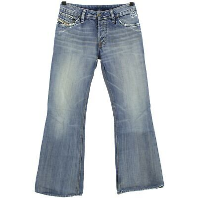 Energico #4229 Diesel Jeans Uomo Pantaloni Zaf 796 Denim Blue Stone Blu 31/32-mostra Il Titolo Originale