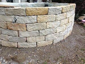 mauersteine 15 20 40 steinmauer sandstein mauer ebay. Black Bedroom Furniture Sets. Home Design Ideas