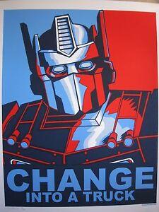 Change-Into-A-Truck-2009-Silkscreen-Art-Print-Tim-Doyle-Transformers