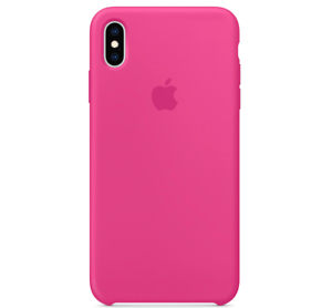 iPhone-XS-Max-Apple-Echt-Original-Silikon-Huelle-Silicone-Case-Drachenfrucht