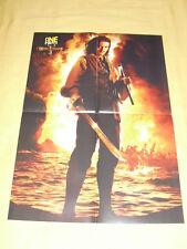 ORLANDO BLUM (Pirates de Caraïbes) / JESSICA ALBA Affiche Poster 40 x 60