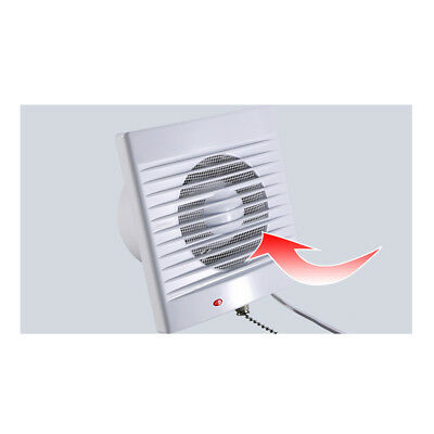 Silent Extractor Fan Low Noise, Low Energy- Bathroom, Wet ...