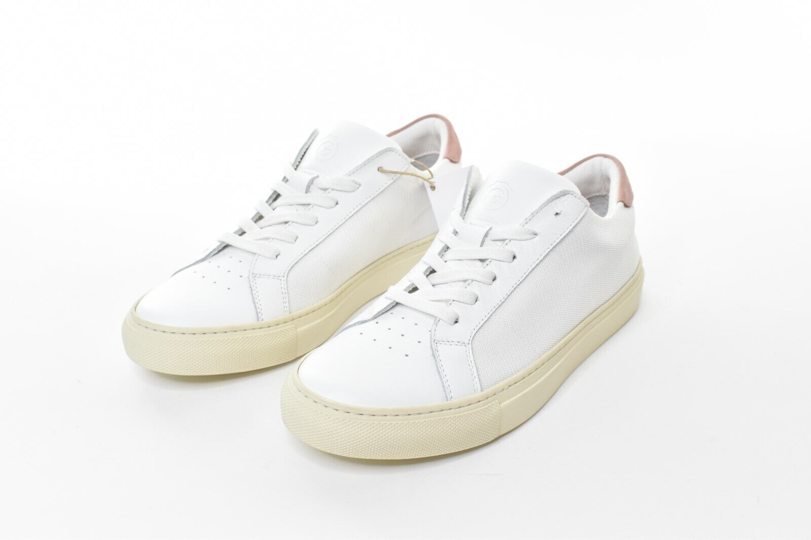Greats The Royale Vintage Blaush damen 7.5 Schuhe Leder Neue weiße Turnschuhe