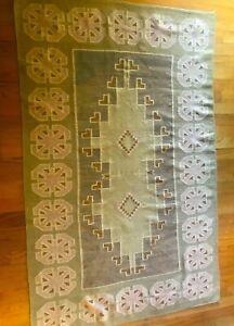 Vintage Navajo Rug Burner Blanket