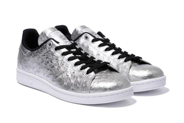 ADIDAS Originals Stan Smith Men's Shoes Silver Metallic AQ4706 sz 10 ~ 13