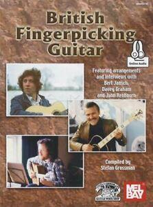 Alerte British Fingerpicking Guitar Tab Music Livre Audio/bert Jansch MÊme Jour ExpÉdition-afficher Le Titre D'origine