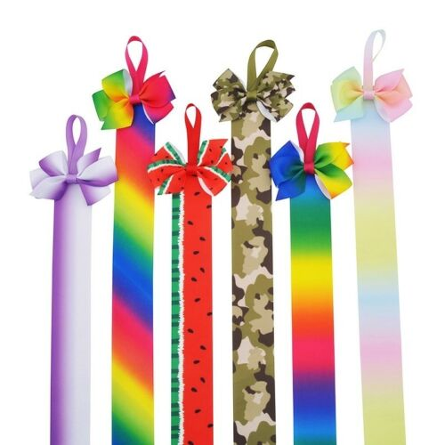 Hair Bow Holders//Hangers//Ribbons 31 Colours//Designs 66cm 26/""