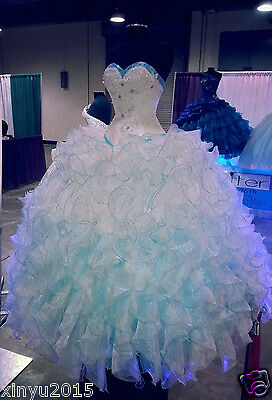 2017 New Quinceanera Dresses Ball Gowns Formal Prom Gowns Custom Sweet 16 Dress