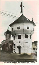 RPPC,Nanaimo,Vancouver Island,B.C.,Canada,The Bastion,,c.1920s
