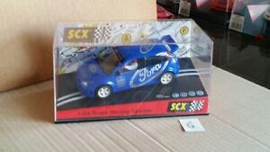 6ème Scalextric Scx Ford Focus Wrc Valvoline - Bleu Référence 6027 Mc10 / 17