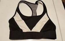 d70d8f8e654c8 item 5 Victorias Secret VSX Sports Bra small black n white