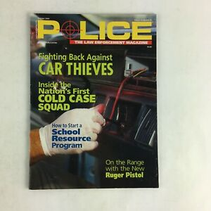 October-2004-Vol-28-Police-Magazine-Car-Thieves-Cold-Case-Squad-Ruger-Pistol