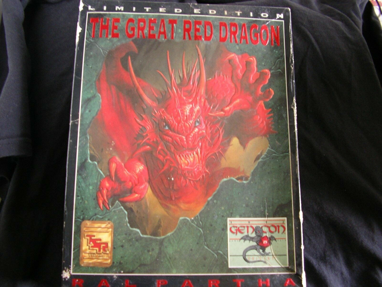 The Great Great Great Red Dragon - Limited Edition - Ral Patha 4a3758
