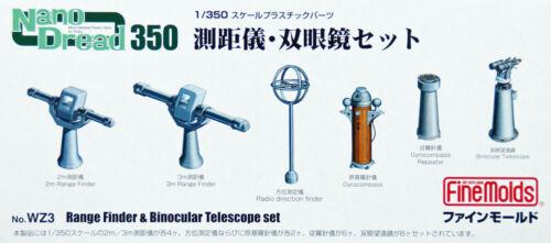 Fine Molds WZ3 Range Finder /& Telescope Set 1//350 scale kit