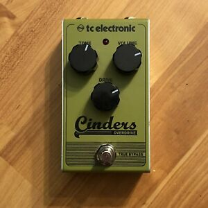 TC-Electronic-Cinders-Overdrive-Guitar-Blues-Breaker-KOT-Guitar-Effects-Pedal