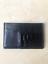 Porte-cartes-cuir-noir-croco-vernis miniature 3