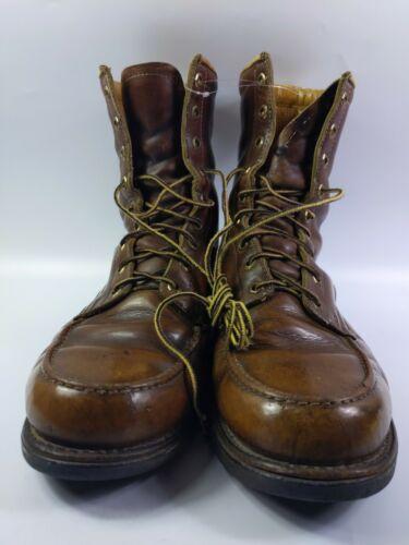 Brown Leather Herman Survivor Works Boots Mens Siz