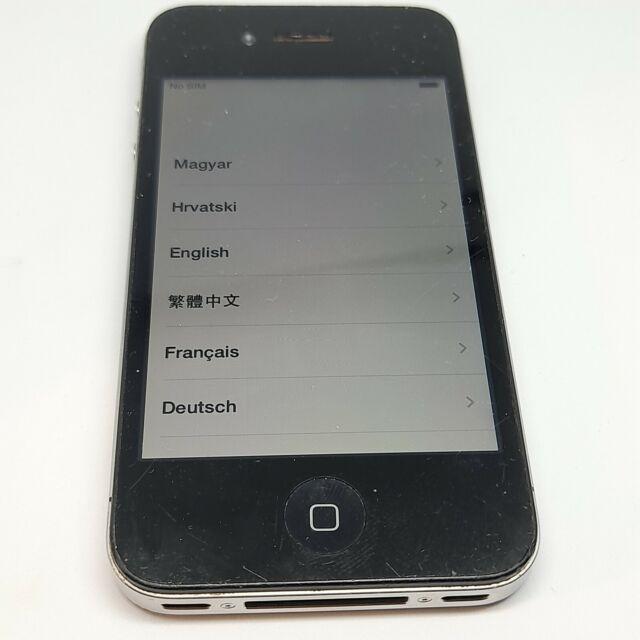 Apple iPhone 4 (Black Unlocked) USED
